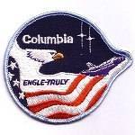 Unknown manufacturer STS-2 patch