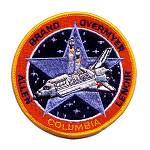 Lion Brothers coated back STS-5 patch